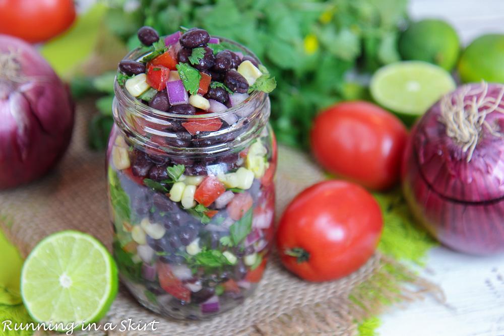 Easy Black Bean Salsa recipe
