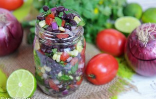 Easy Black Bean Salsa recipe