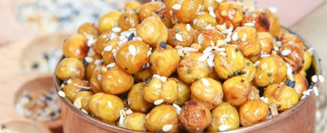 Roasted Everything Bagel Chickpeas recipe