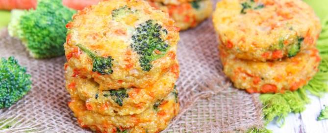Cheesy Broccoli Quinoa Patties recipe