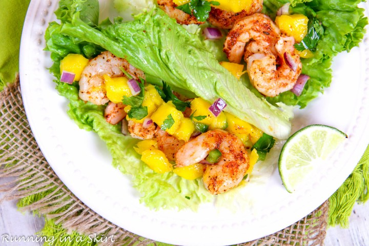 Lettuce Wrap Shrimp Tacos recipe