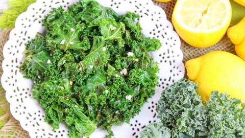Sauteed Kale with Lemon and Garlic