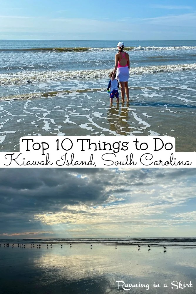 Things to do on Kiawah Island SC pinterest pin.