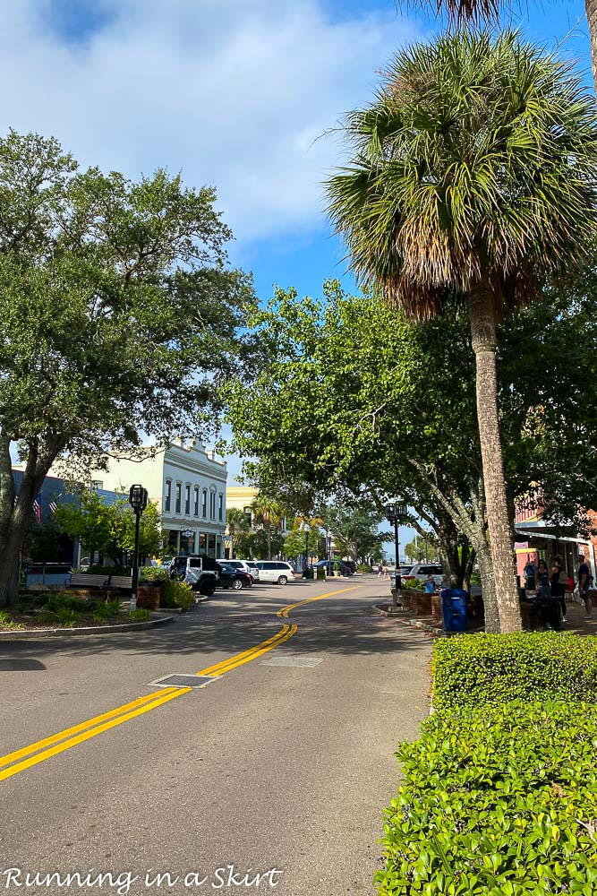 Downtown Fernandina Beach Street.