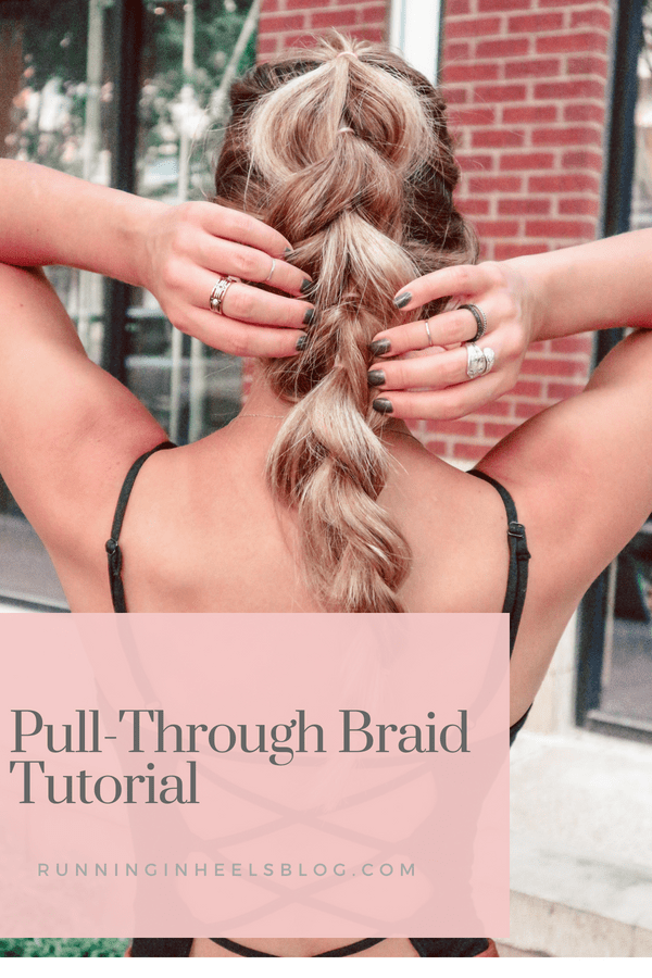 Pull-through braid tutorial, how-to do a pull-through braid