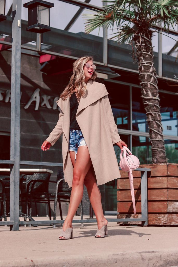 spray tan misconceptions with Palm Beach Tan | Running in Heels