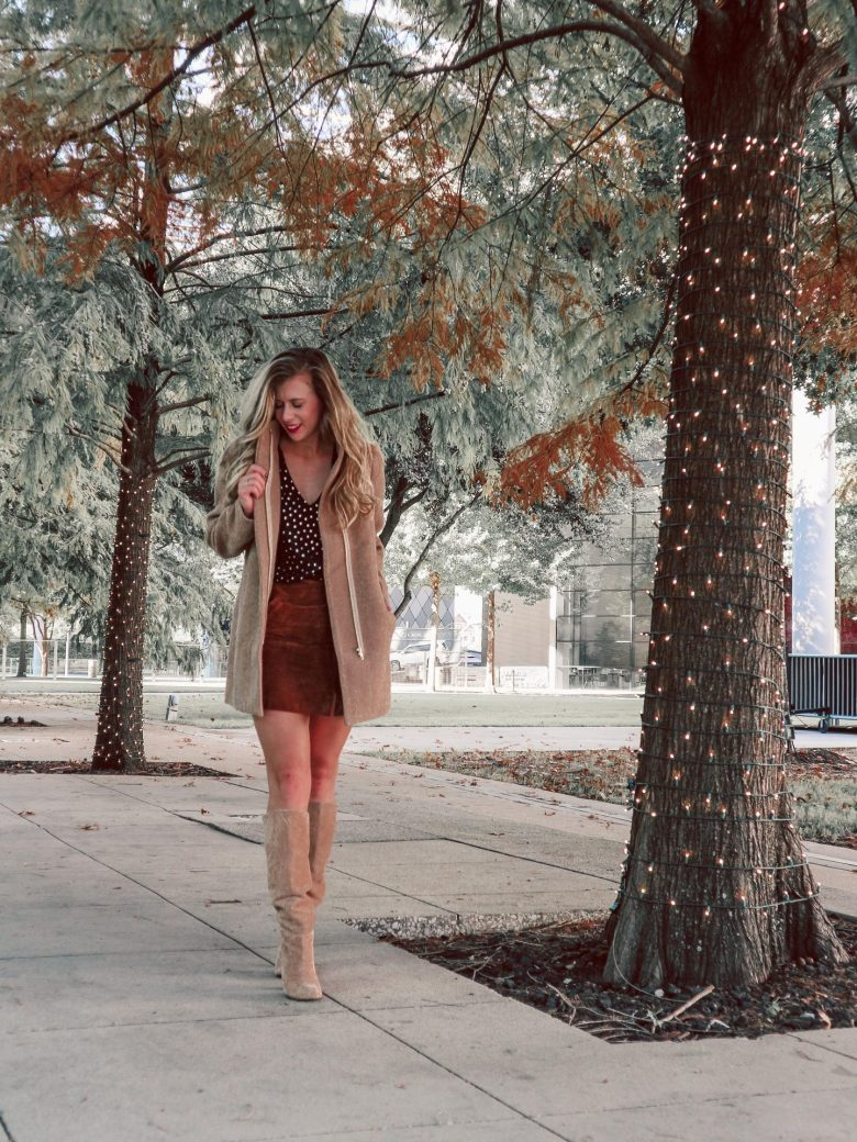 How to Choose the Best Winter Wool Coats, camel coat featured by top US fashion and style blogger, Running in Heels