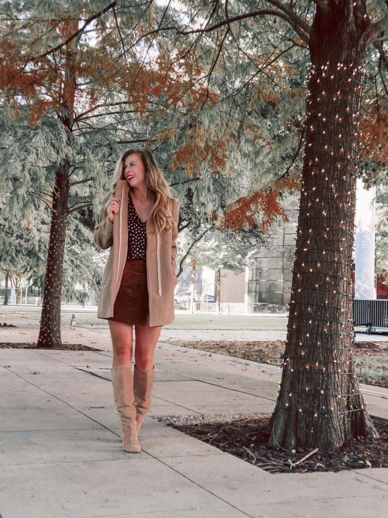 How to Choose the Best Winter Coats , wool coat and boots featured by top US fashion and style blogger, Running in Heels