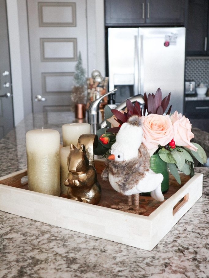 How to decorate an apartment for Christmas featured by top us fashion and lifestyle blogger, Running in Heels