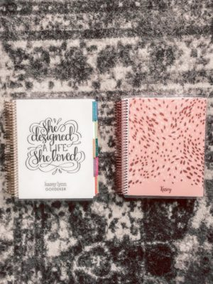 Erin Condren Planner review featured by top US life and style blog, Running in Heels.: Customization & Personalization