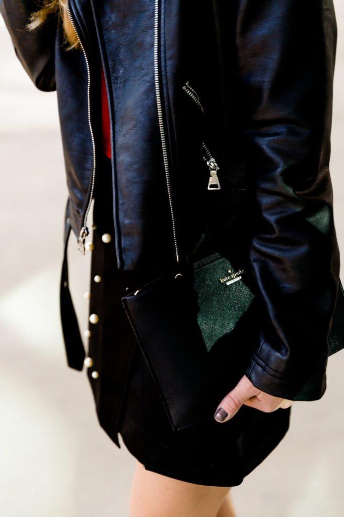 Pearl studded skirt  Running in Heels   Dallas Fashion Blogger