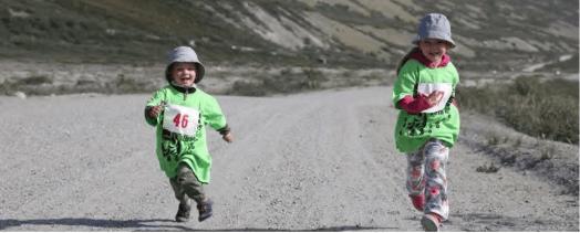 race, runners, greenland
