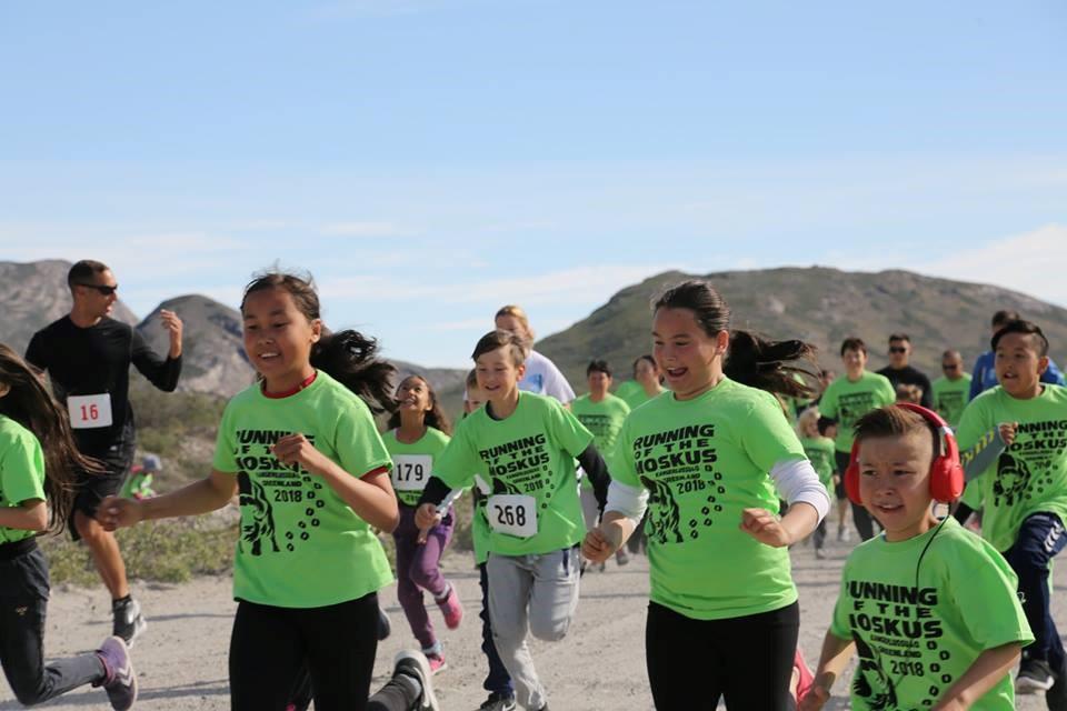 2018 running of the moskus runners