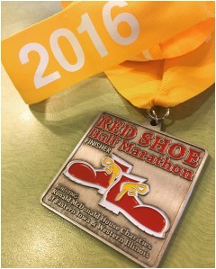 Red Shoe Half Marathon Recap