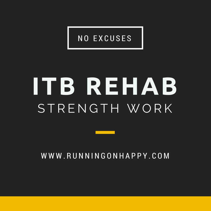 Iliotibial Band Syndrome Rehab | Running on Happy
