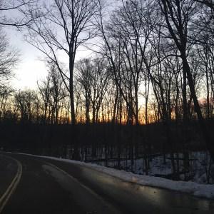 Saturday Sunrise   Running on Happy