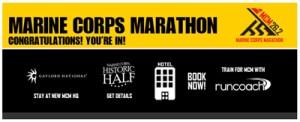 Marine Corps Marathon | Run With the Marines | Running on Happy