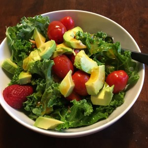 Salad | Long Run Refuel | Running on Happy