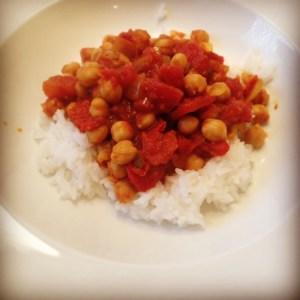 Meatless Monday | Chana Masala | Running on Happy