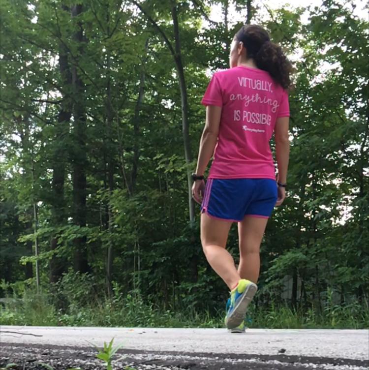 If Girls Ran the World | Strawberry Raspberry Dessert Smoothie | Running on Happy