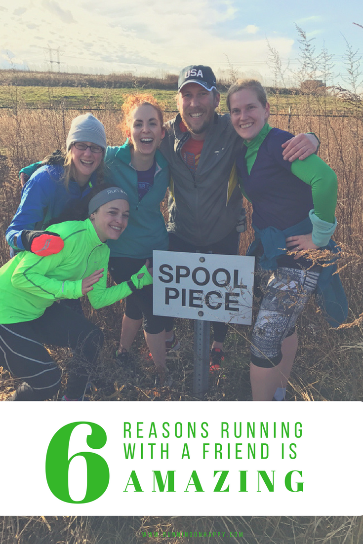 Running solo versus running with a friend or a group is vastly different. All forms of running are wonderful and they all offer unique experiences. Read these 6 reasons running with a friend is AMAZING. -Running on Happy