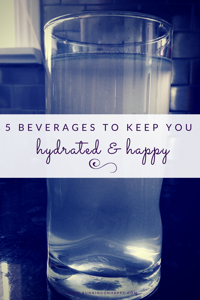 Staying hydrated on the run is super important. Try one of these five amazing beverages to keep yourself long run and performance-ready. -Running on Happy