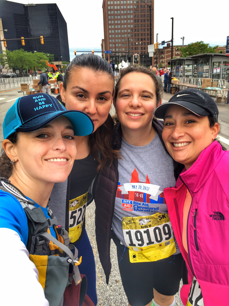 The 40th Running of the Cleveland Marathon -- 5K Recap! | Running on Happy
