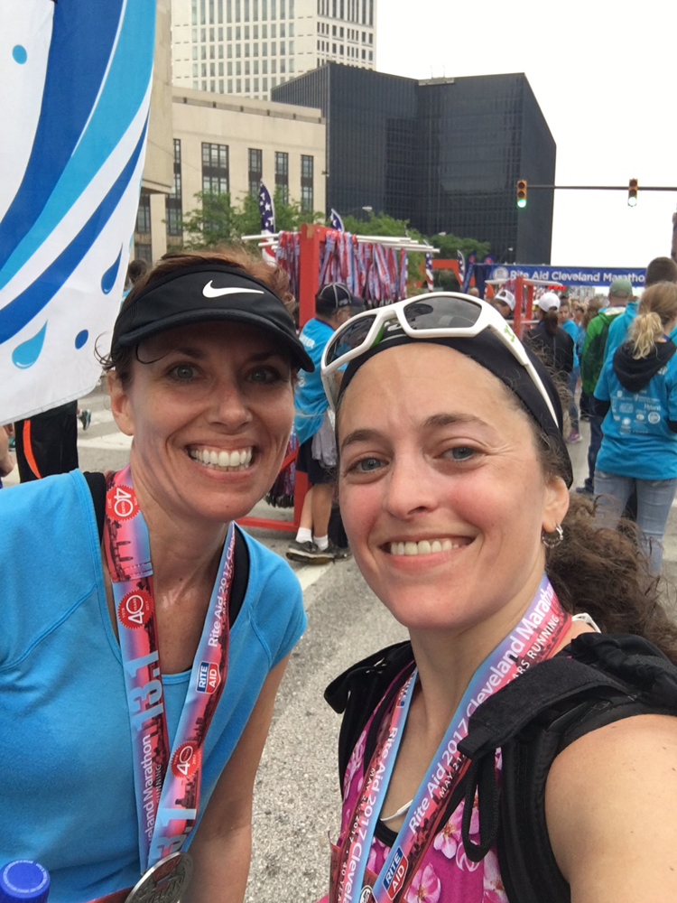 The 40th Running of the Cleveland Marathon: 2017 | Running on Happy