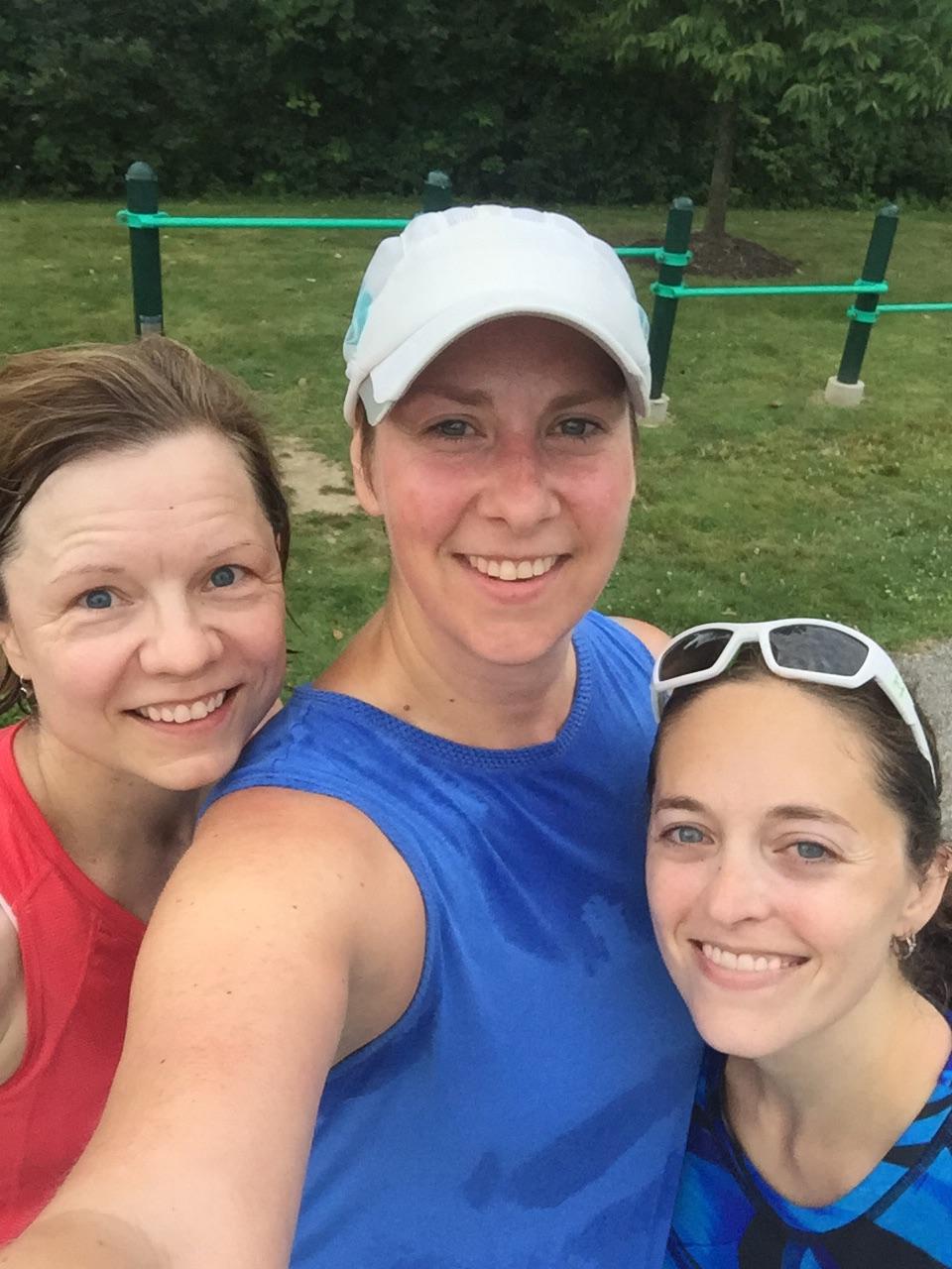 Volunteering at Burning River + A Crazy Muscle Cramp [Marine Corps Marathon Training: Week 5] | Running on Happy