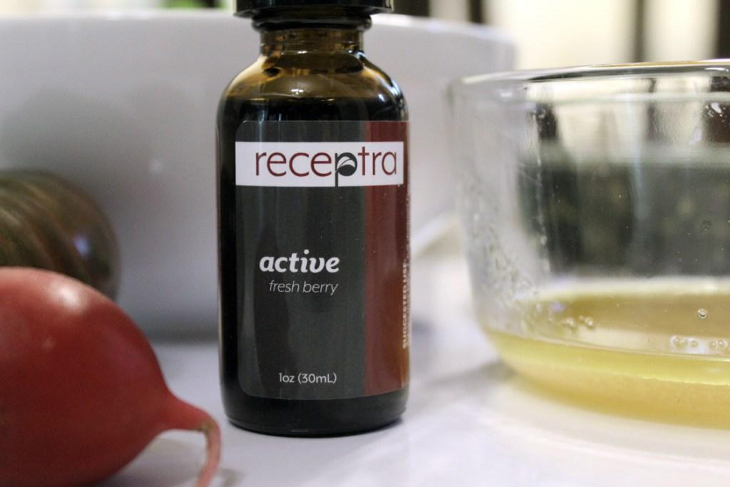 Berry Hemp Vinaigrette with Receptra Naturals   Running on Happy