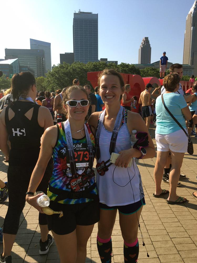 Rock Hall Half Marathon 2017 | Running on Happy