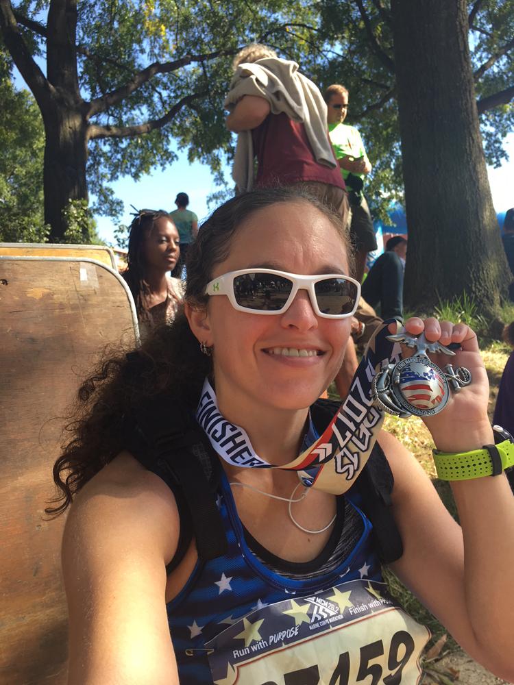 2017 Marine Corps Marathon Race Recap   Running on Happy
