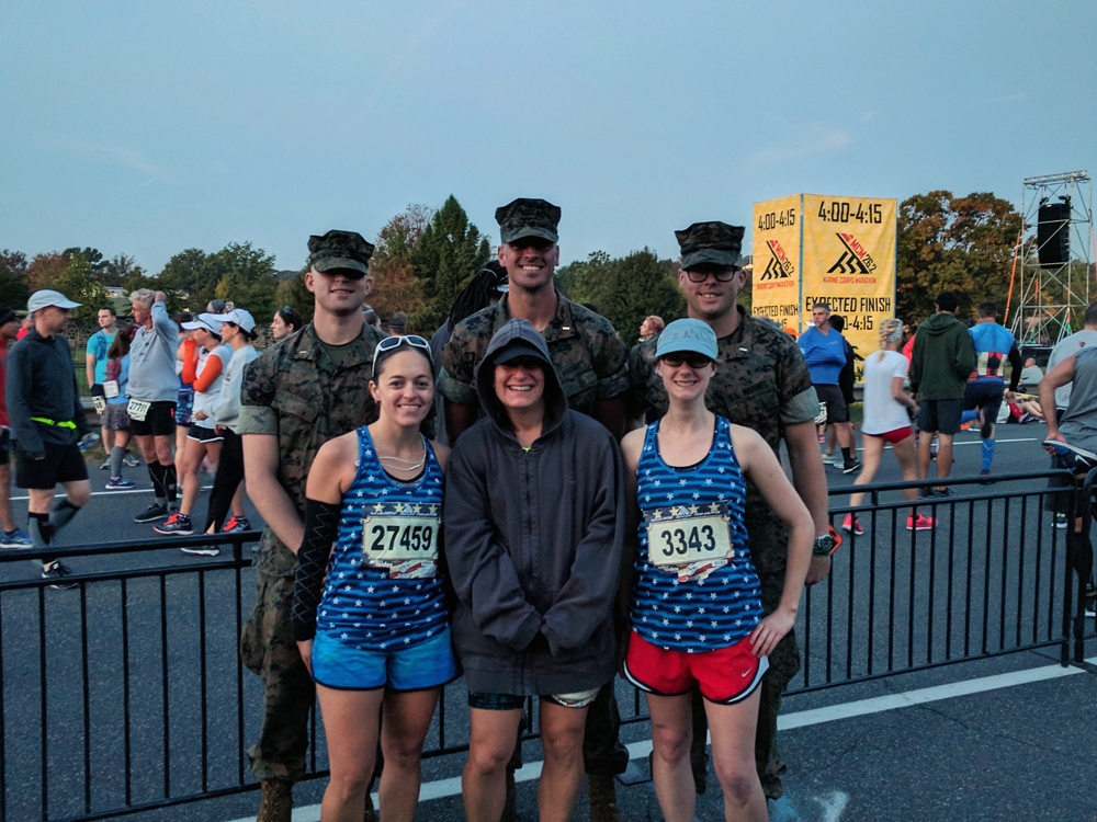 2017 Marine Corps Marathon Race Recap | Running on Happy
