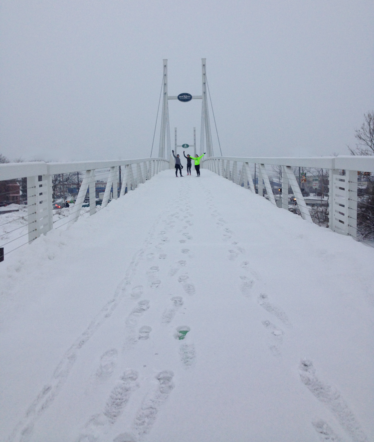 Winter Running Safety Tips | Running on Happy