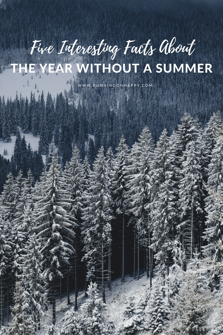 Follow me down the Internet rabbit hole this Friday the 13th as I share five interesting facts about 'The Year Without a Summer.' You don't want to miss number five!