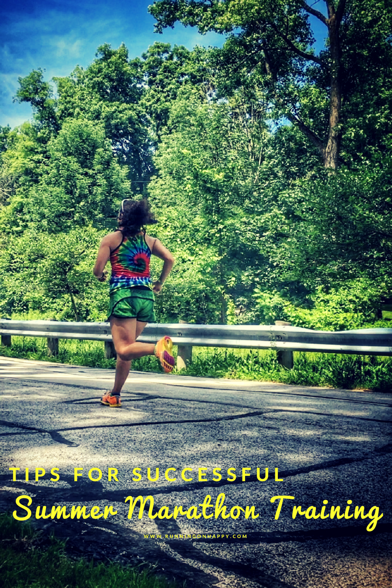 There's no secret of how to go with the flow and adjust expectations, especially when it comes to running. But today I'm sharing a few tips to use during your summer marathon training cycle to make it a little more fun and a little less intimidating.