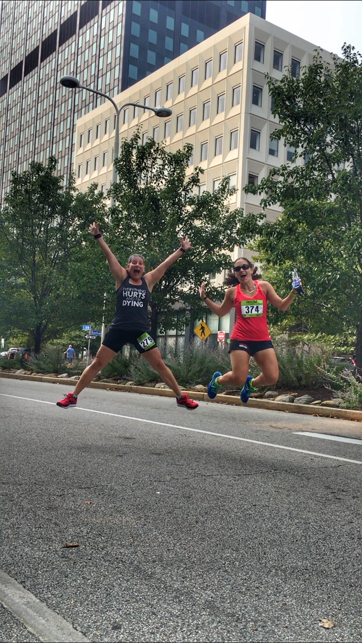 2018 Rock Hall Half Marathon Review and Recap | Running on Happy