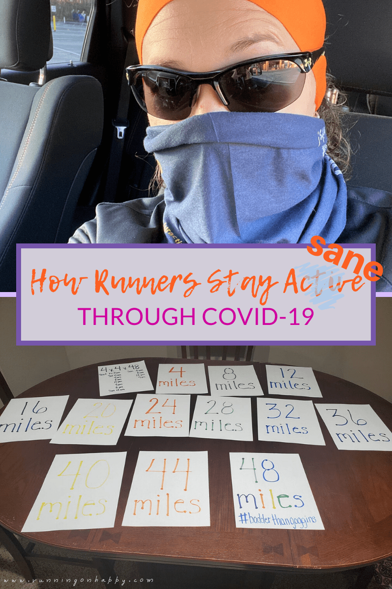 How Runners Stay Active through COVID-19 | Running on Happy