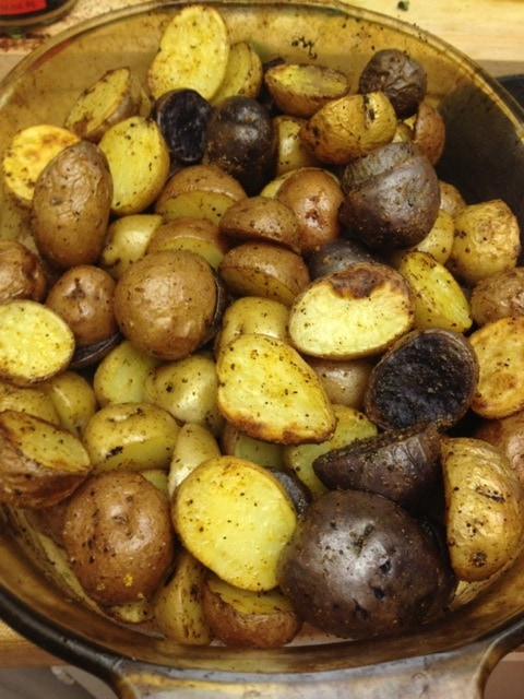 Base of Roasted Potato