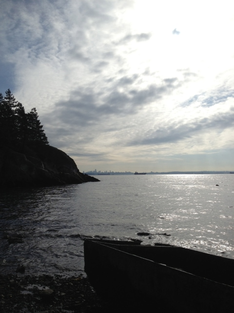 Beautiful Lighthouse Park in West Vancouver