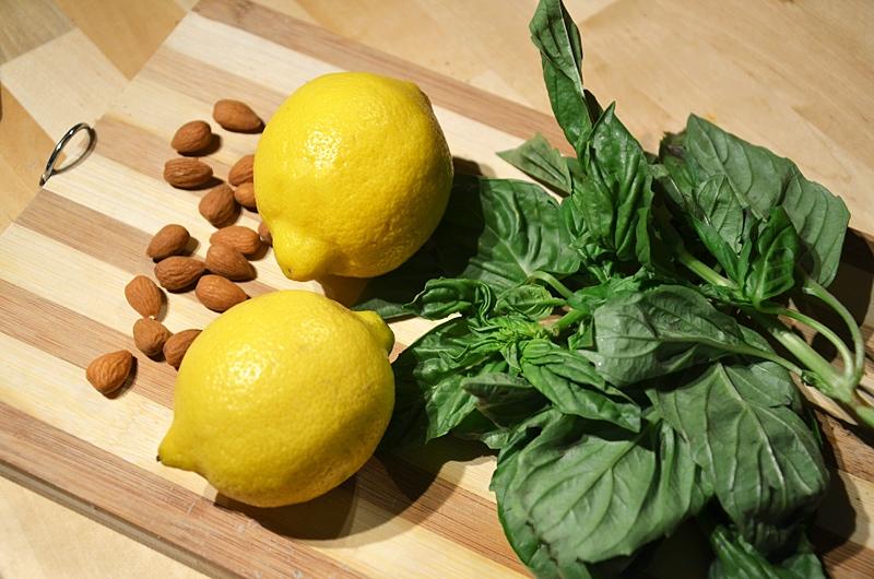 Basil, Lemon and Almond