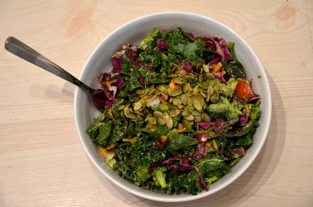 Raw Superfood Salad