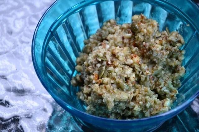 Almond Pumpkin Seed Tapenade