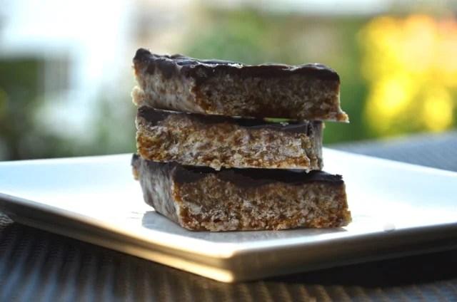 Chocolate Ganache Coconut Squares