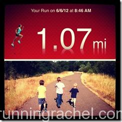 National Running Day, family, running
