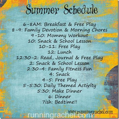 Summer Schedule copy