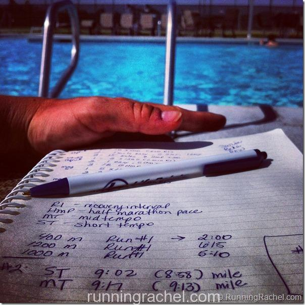 creating a training plan