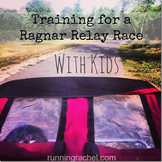 training for ragnar with kids