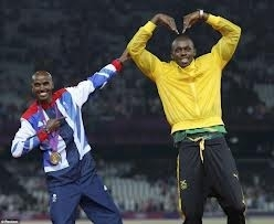 Sorry - no voting for Mo or Usain, they forgot to pay their membership fee this year!