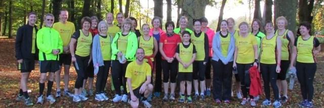 Swindon Park Run 1st November 2014